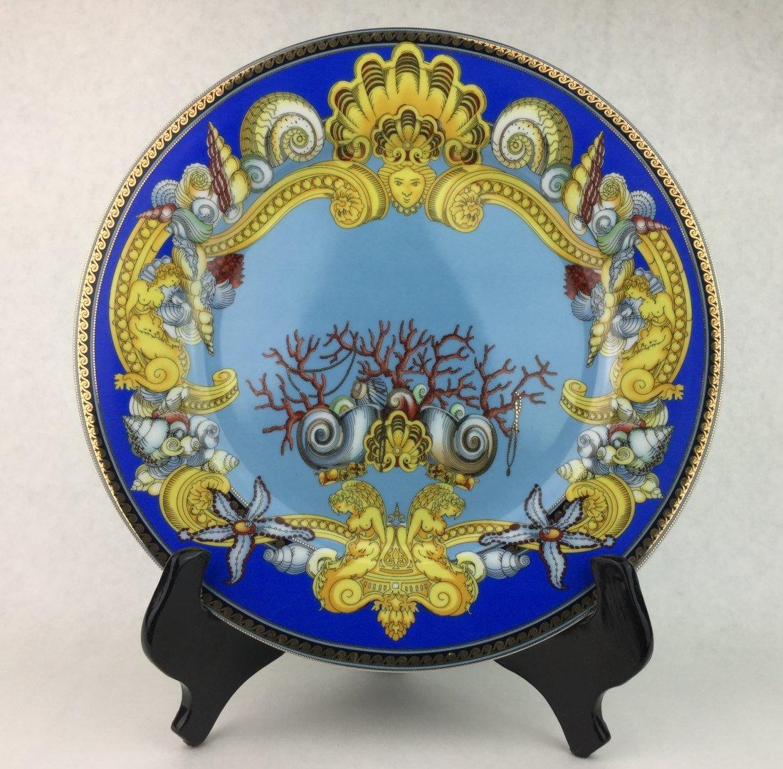 "Versace De La Mer Wall Plate Rosenthal 12"""