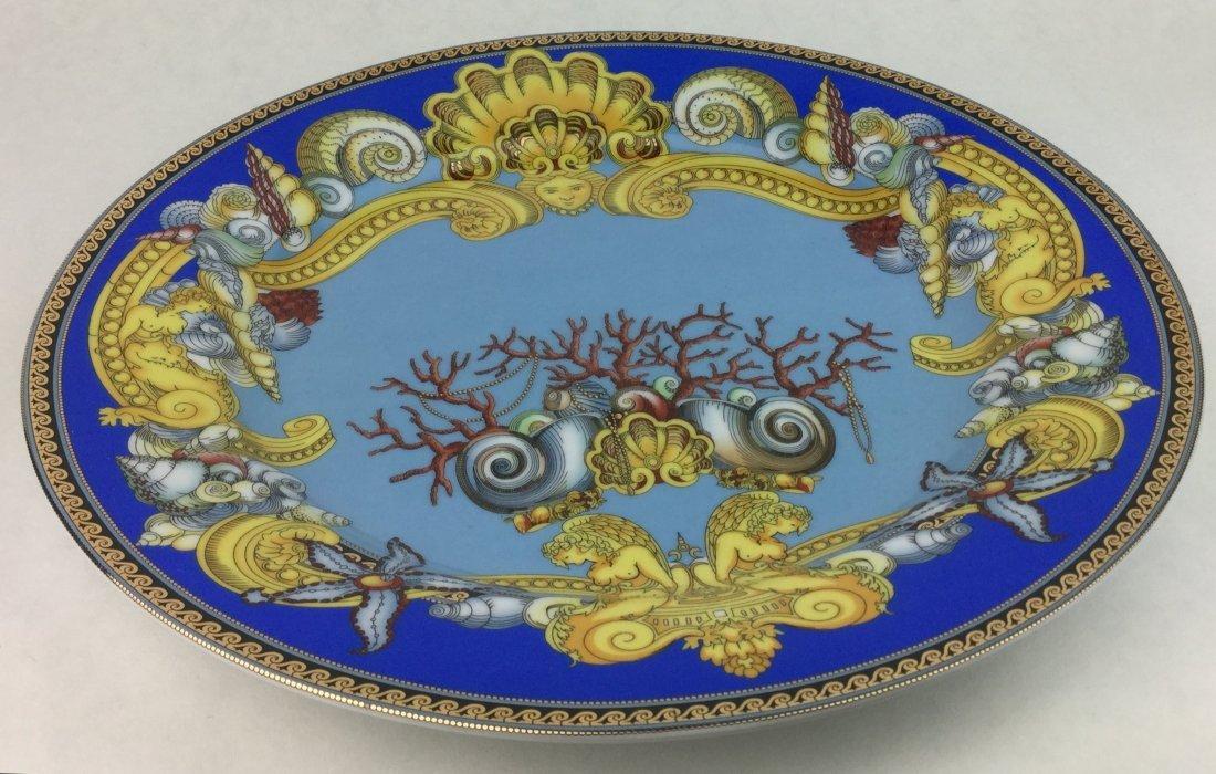 "Versace De La Mer Wall Plate Rosenthal 12"" - 2"