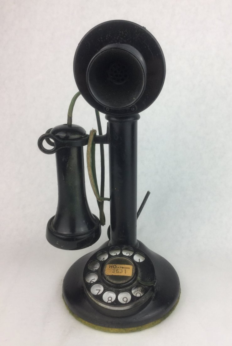 Early 1900's Western Electric Candlestick Phone