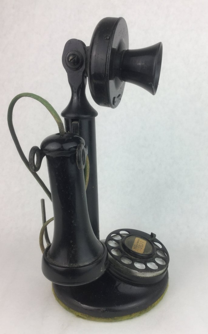 Early 1900's Western Electric Candlestick Phone - 2