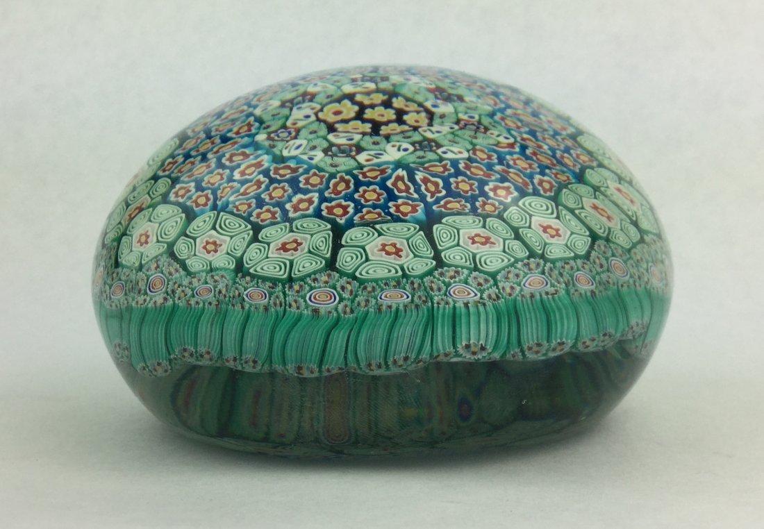 Large Millefiori Italian Glass Paperweight - 2