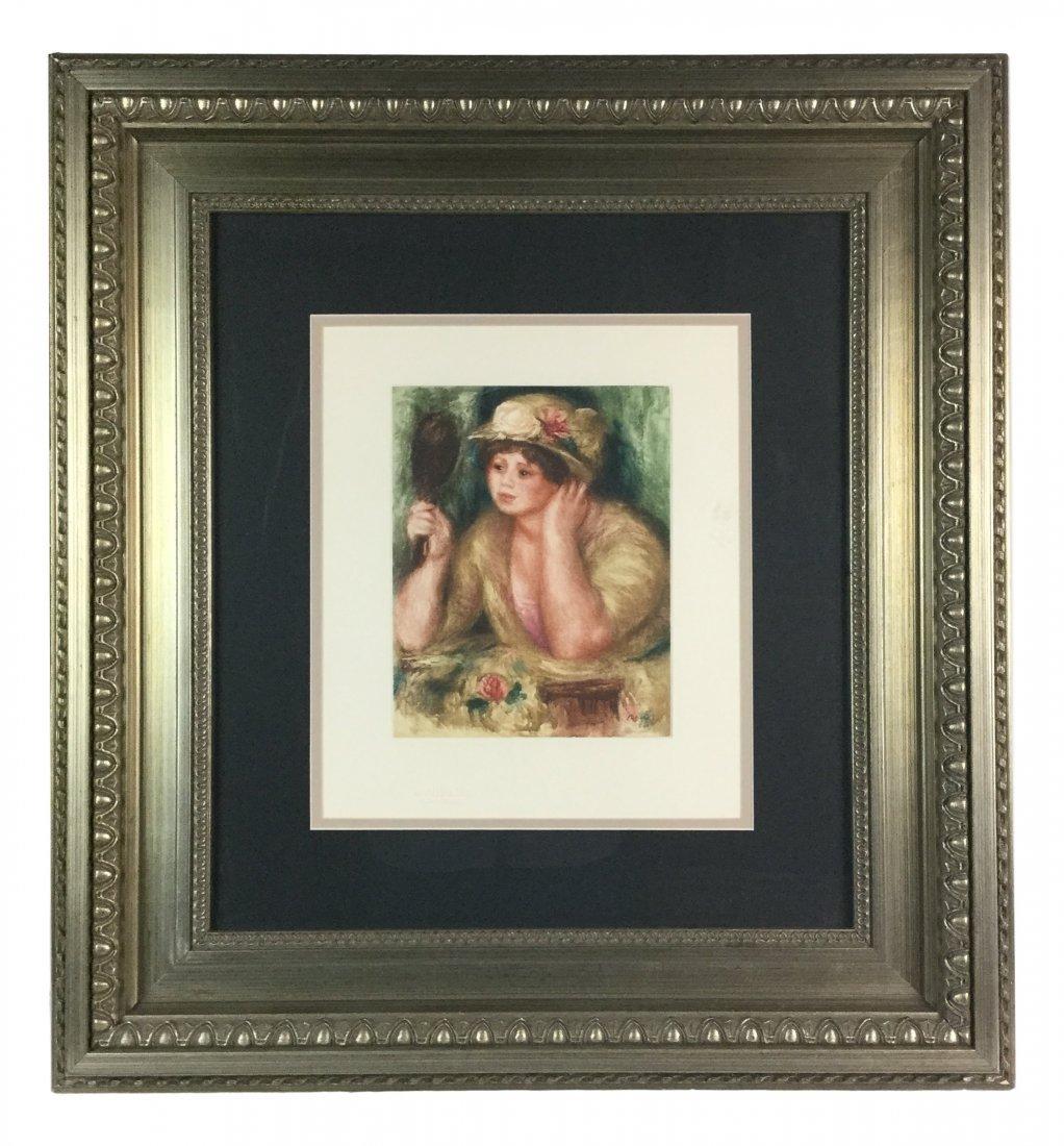 Etching by Pierre Auguste Renoir