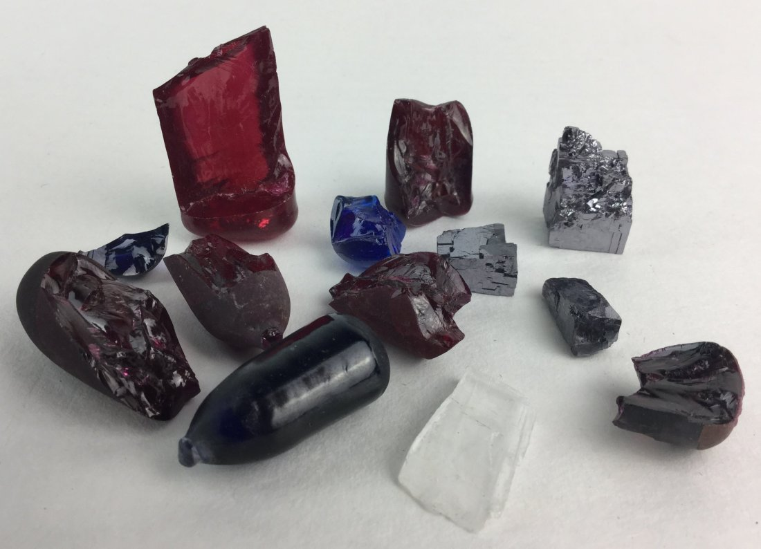 Collection of Minerals and Gemstones