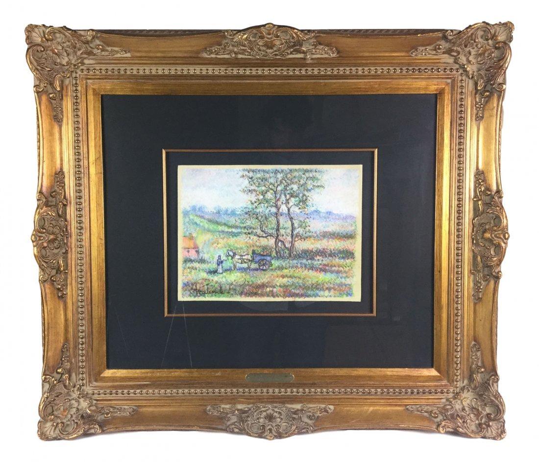 Paul Emile Pissarro 1884-1972 PASTEL