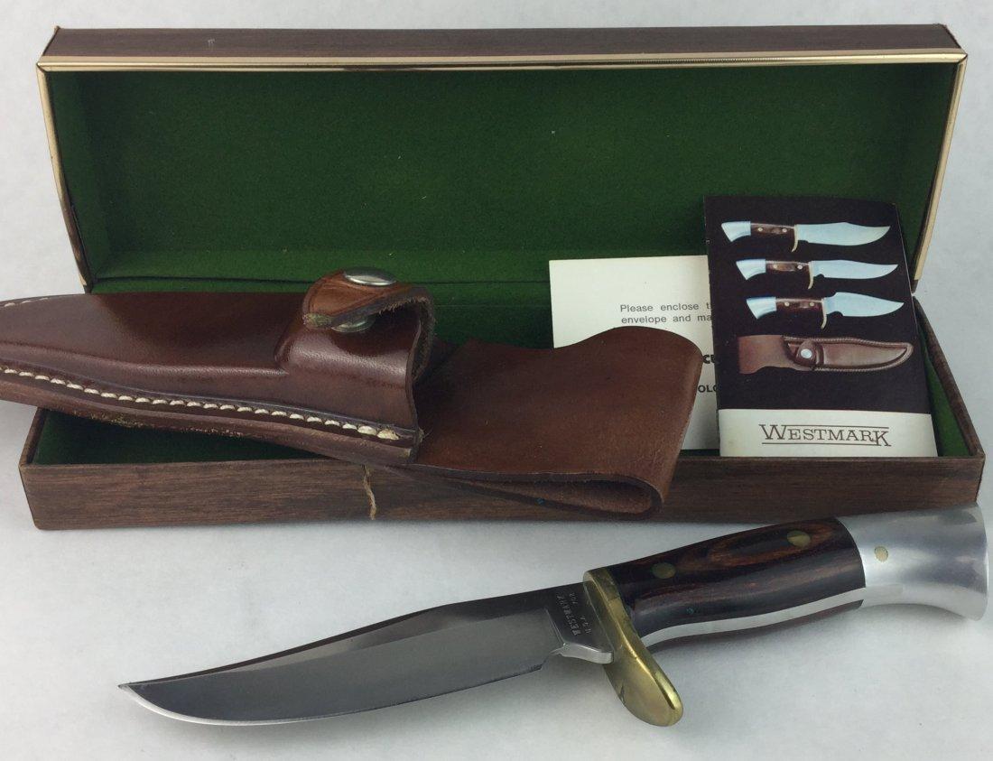 WestMark Hunters Sheath Knife Model 702