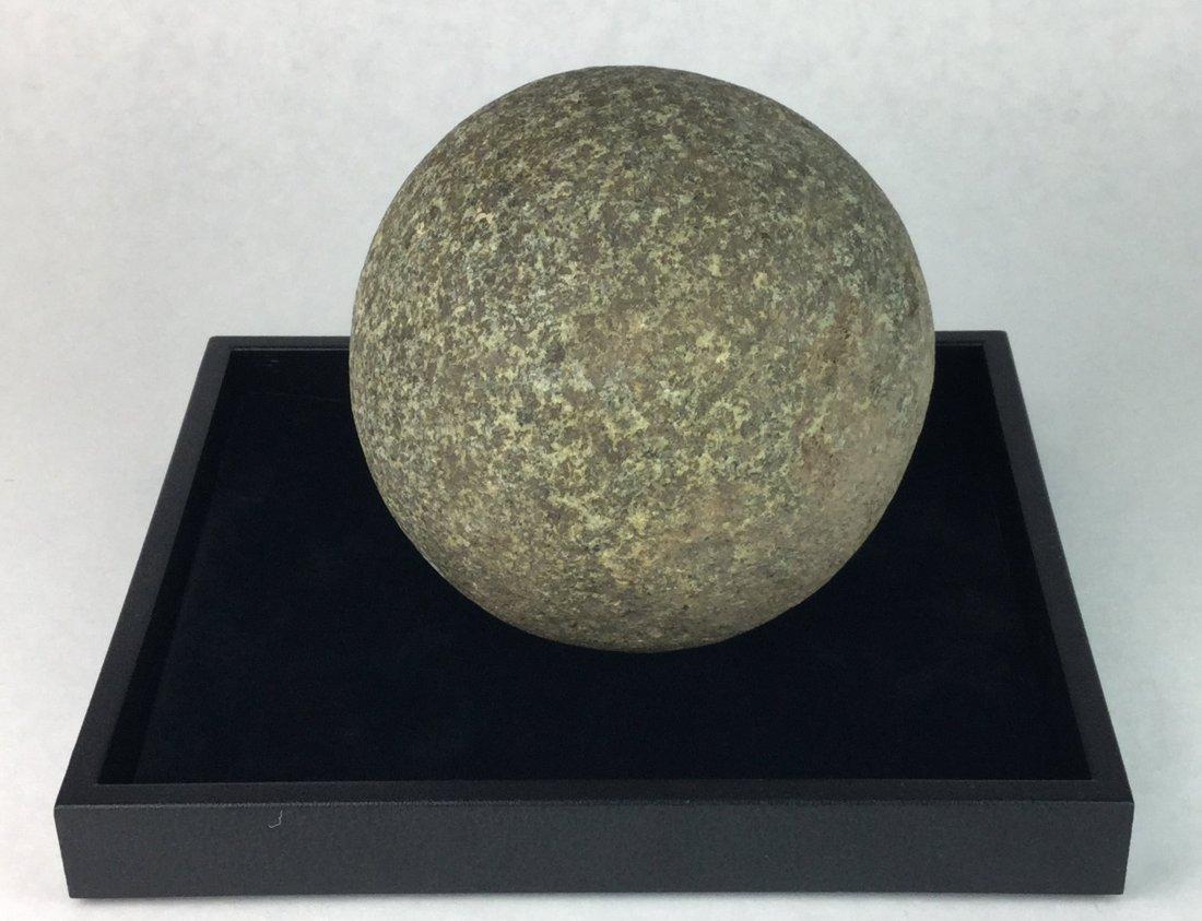 Large Prehistoric Stone Gaming Ball