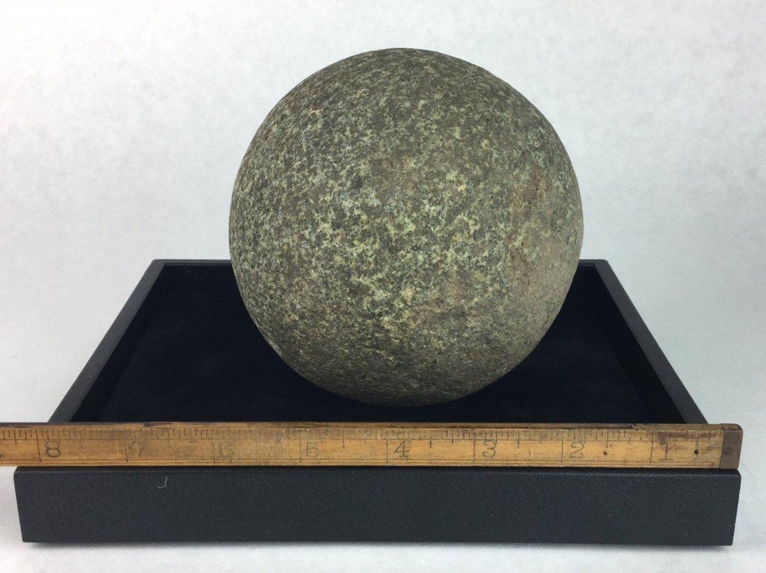 Large Prehistoric Stone Gaming Ball - 2