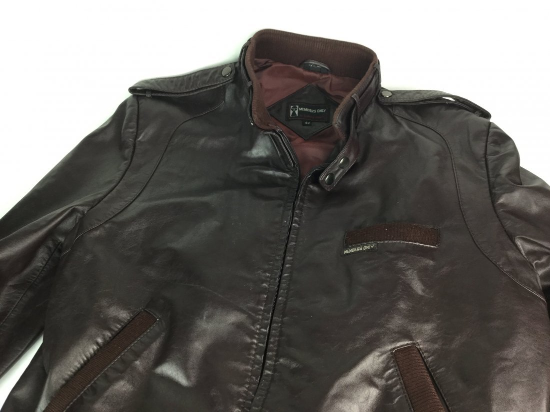 European MEMBERS ONLY Leather Jacket