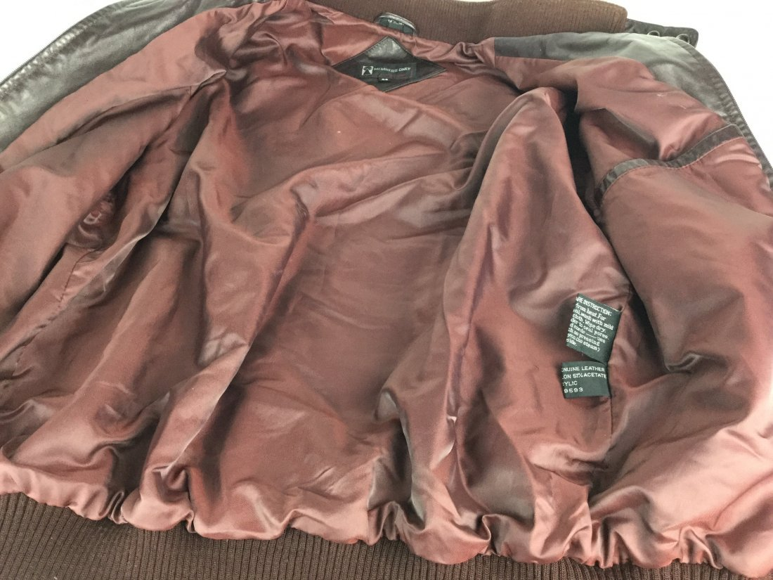 European MEMBERS ONLY Leather Jacket - 2