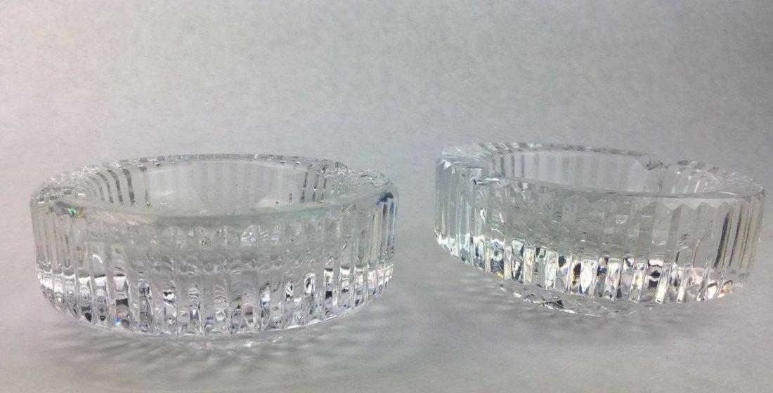 WATERFORD Cut Crystal Ash Trays