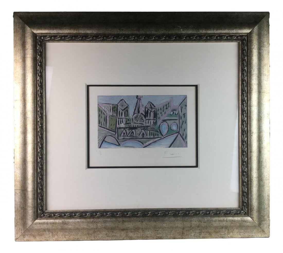 Signed & Numbered PICASSO