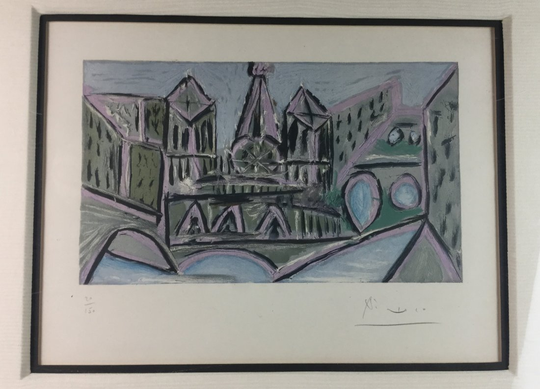 Signed & Numbered PICASSO - 2