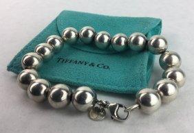 Tiffany & Co Sterling 925 Ball Bead Bracelet