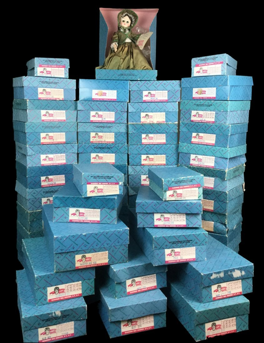 Large Collection of Madam Alexander Dolls with Boxes - 2