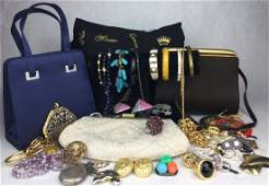 Vintage Estate Jewelry and Purse Collection