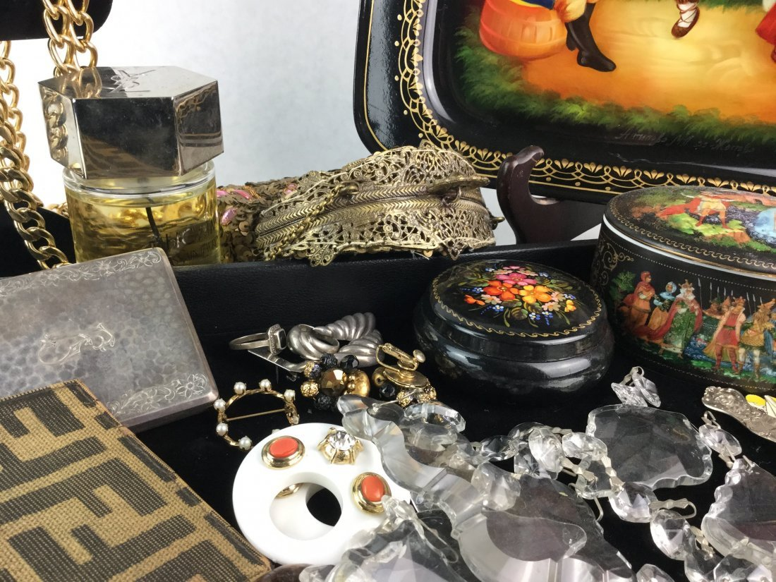 Collection of Vintage Estate Jewelry & Apparel - 2