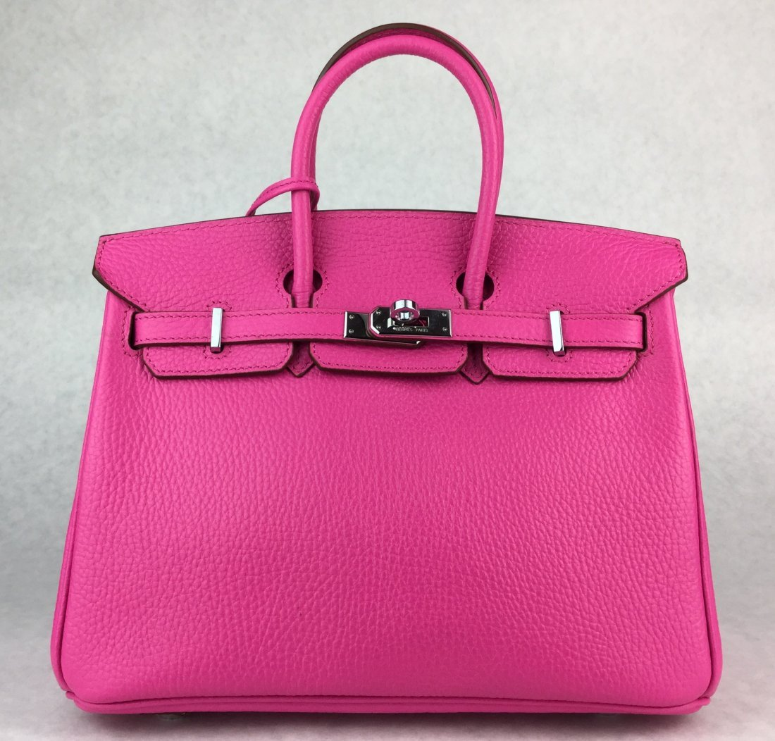 Hermès 25cm BIRKIN Bag HOT PINK Leather & Gold Hardware