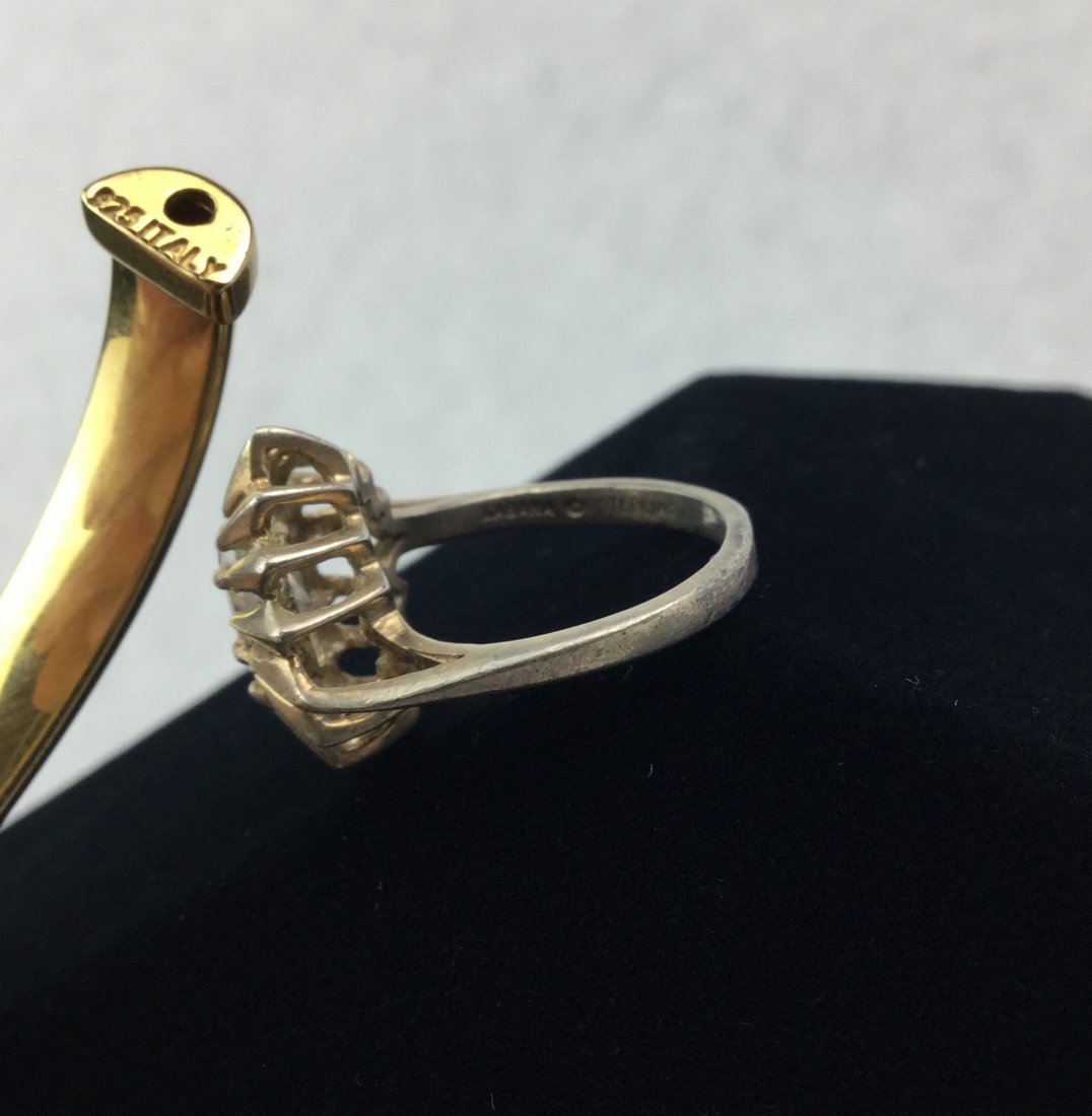 925 Italy Bracelet & Sterling KABANA Ring - 2