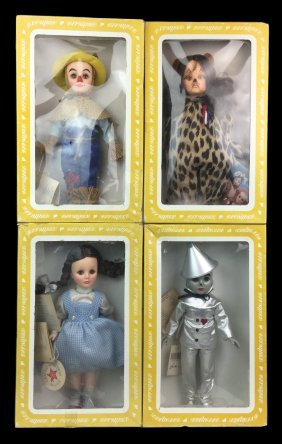 Vintage EFFANBEE Wizard of Oz Doll Collection