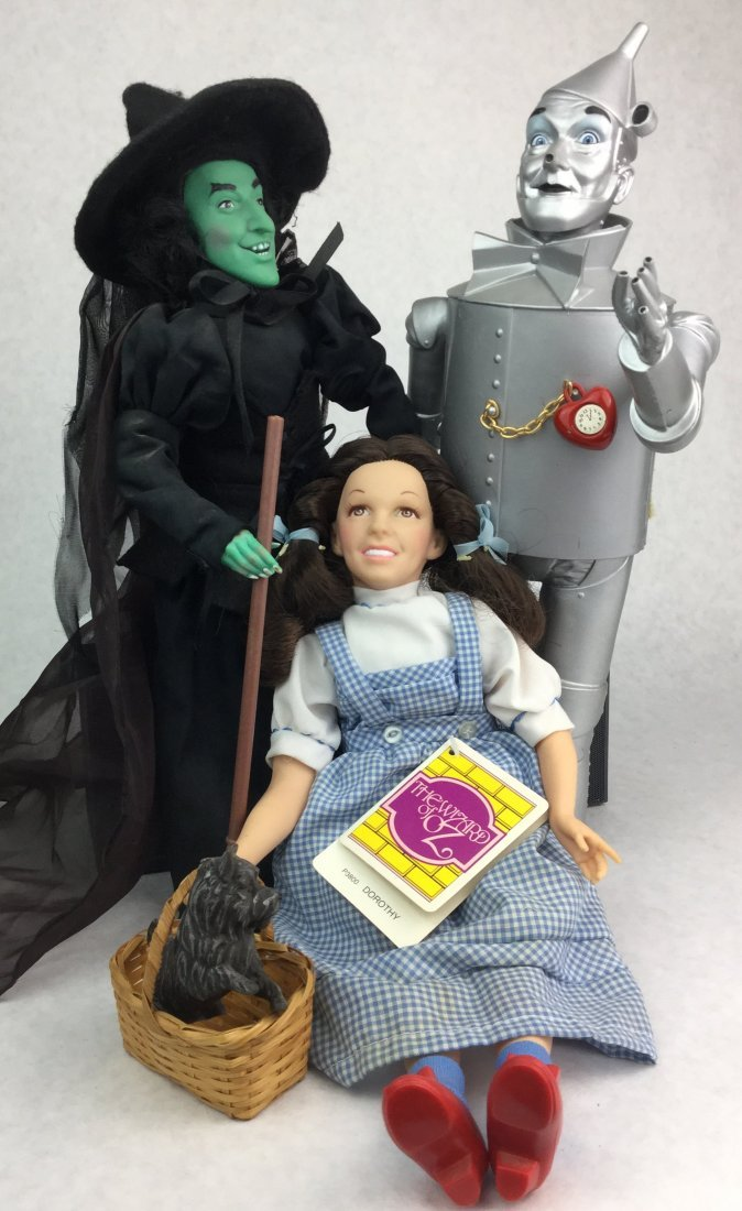 Vintage Wizard of Oz Doll Collection