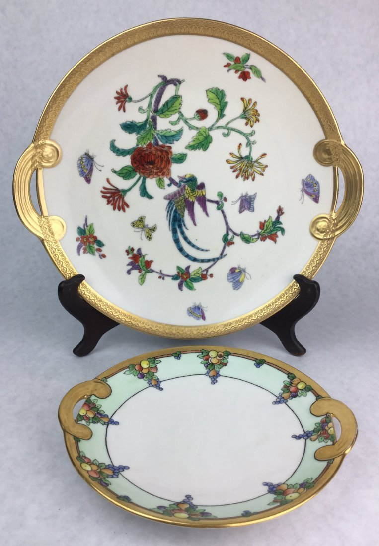 PICKARD Hand Painted Porcelain Plates