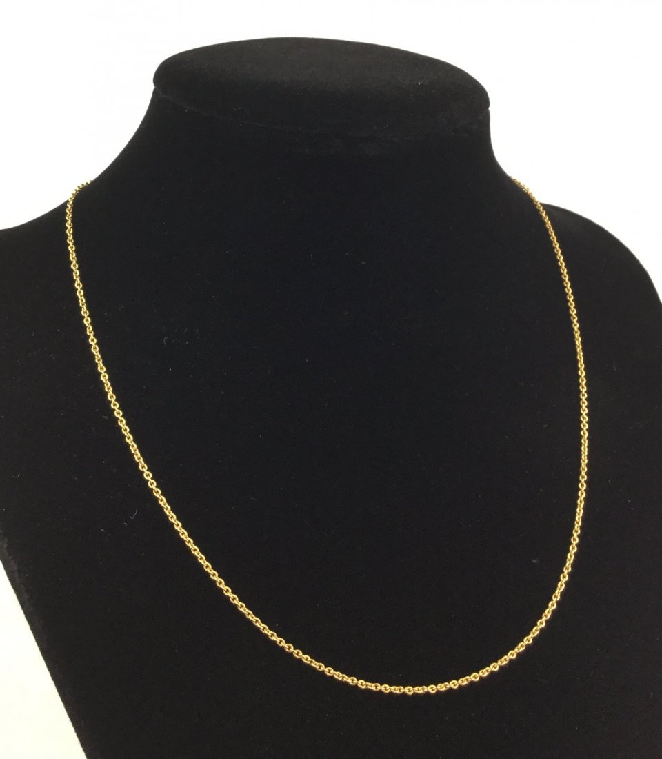 14KT GOLD Chain Necklace 2.2 Grams