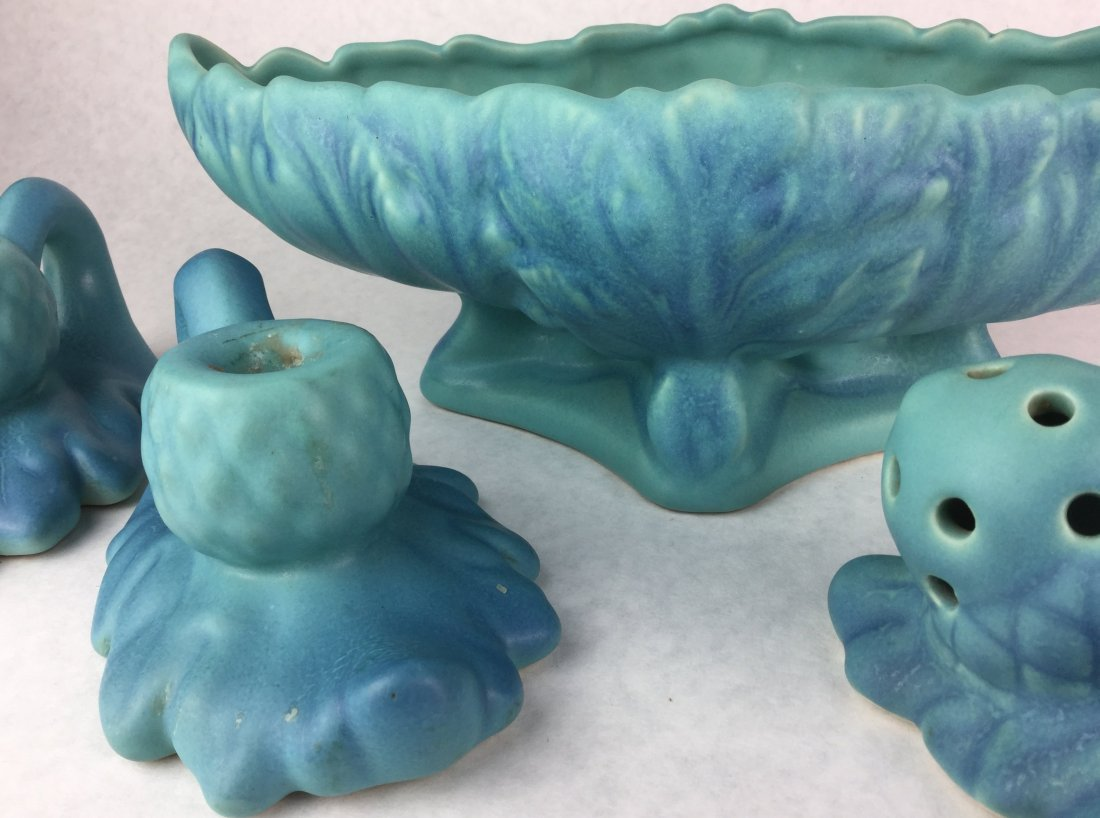 VAN BRIGGLE Turquoise Pottery Collection