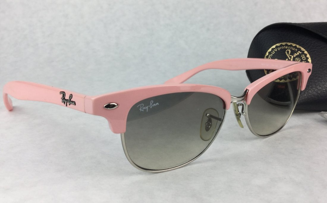RAY BANS Hot Pink RB4132 Clubmaster Sunglasses