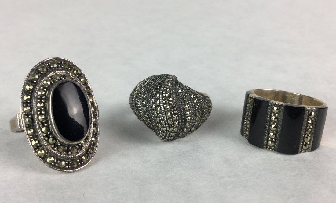 Vintage Sterling Estate Jewelry Rings