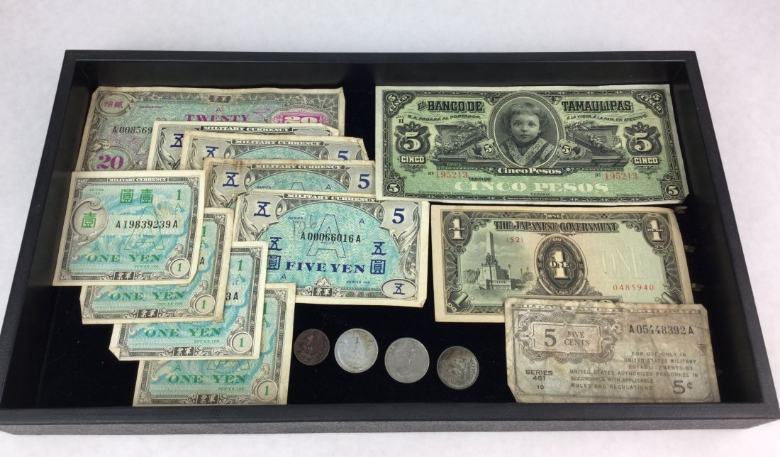 Collection Foreign Money COINS & BILLS