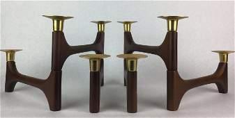 DANISH Mid Century Modern Candle sticks