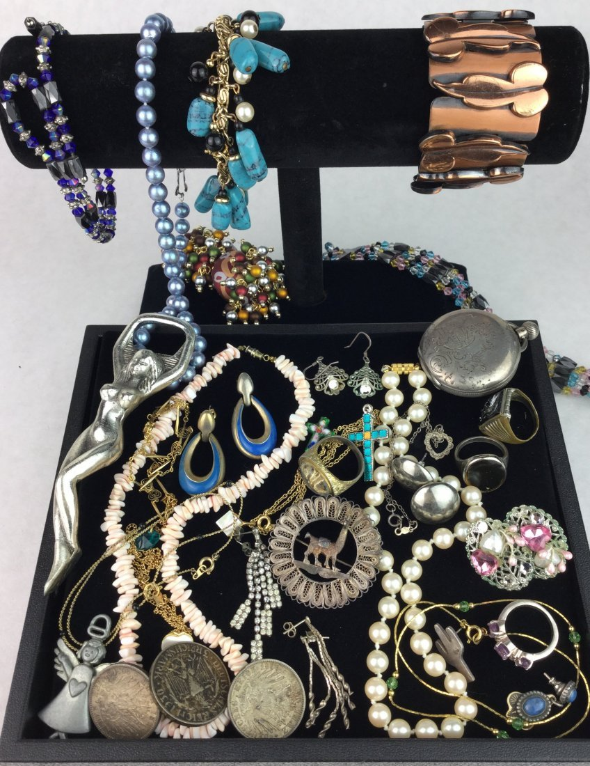 Vintage Estate Jewelry w/ 925 & Signed Pieces