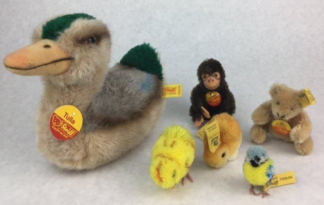 STEIFF Vintage Animal Collection