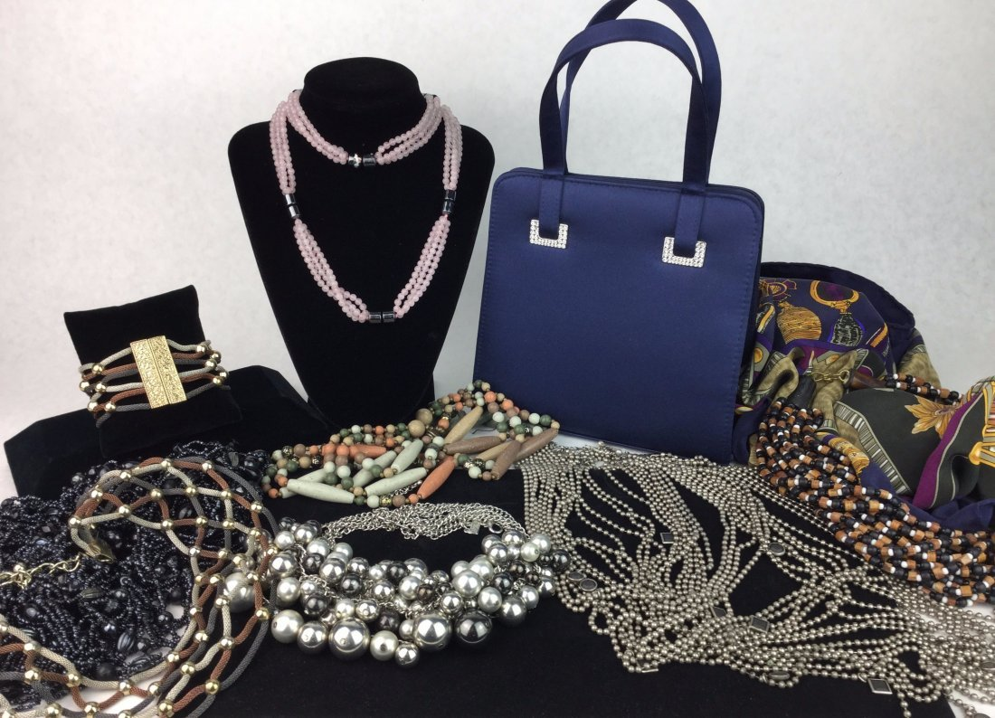 Collection of Estate Jewelry & Apparel