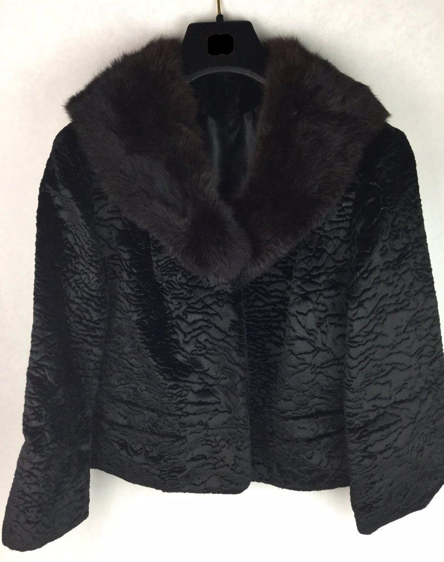Fabulous Black Fox Fur Coat