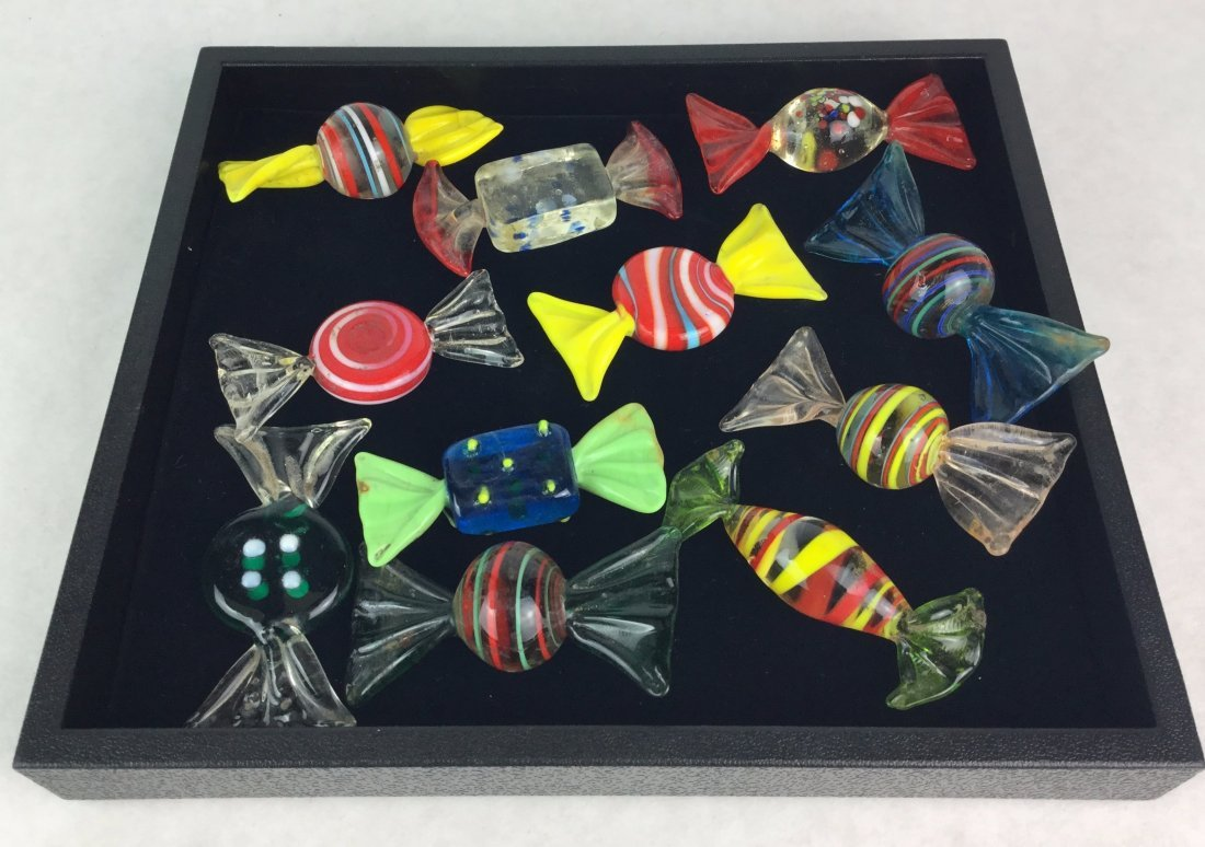 MURANO Glass Candy Decor Lot