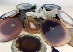 GEODE  ROCK Crystal collection