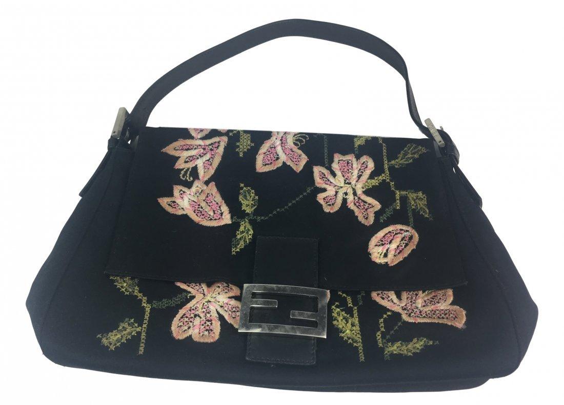 FENDI Vintage Floral Bag