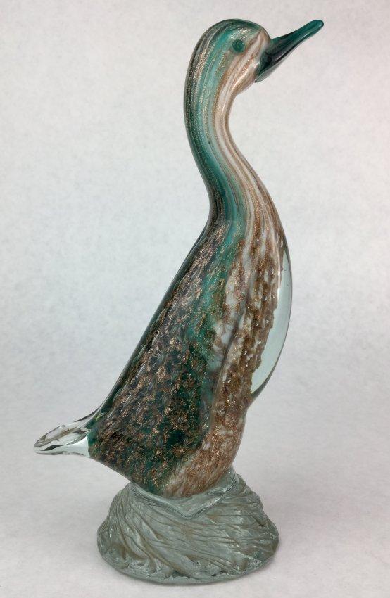 MURANO Glass Bird Figure