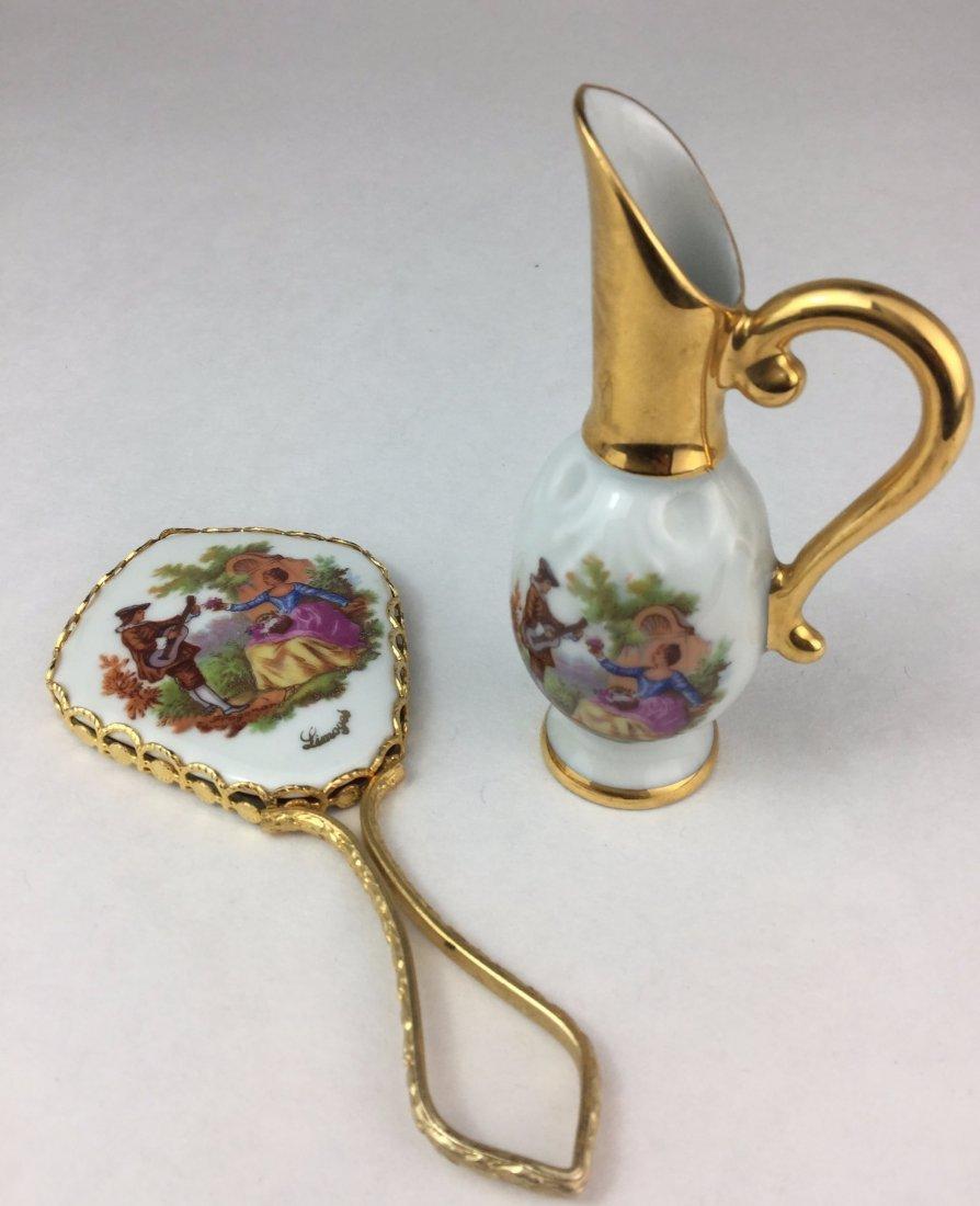LIMOGES Miniature Hand Painted Porcelain