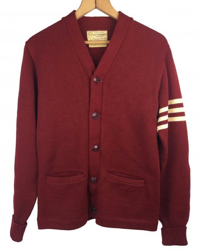"""Vintage Letterman's Sweater """" ALVIN BUSH"""""""