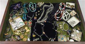 Large Estate Jewelry with 925 Sterling & 14kt Gold