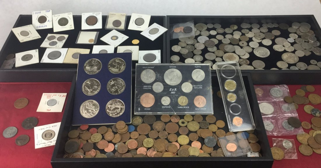 Large Estate Coin Collection