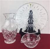 WATERFORD Cut Crystal Grouping