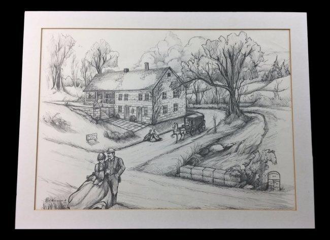RICK WISECARVER Sketching 1988