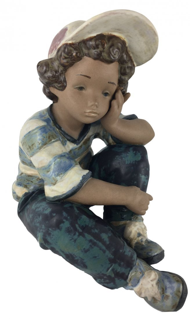 Lladro Retired #2209 with matte finish - Long Day