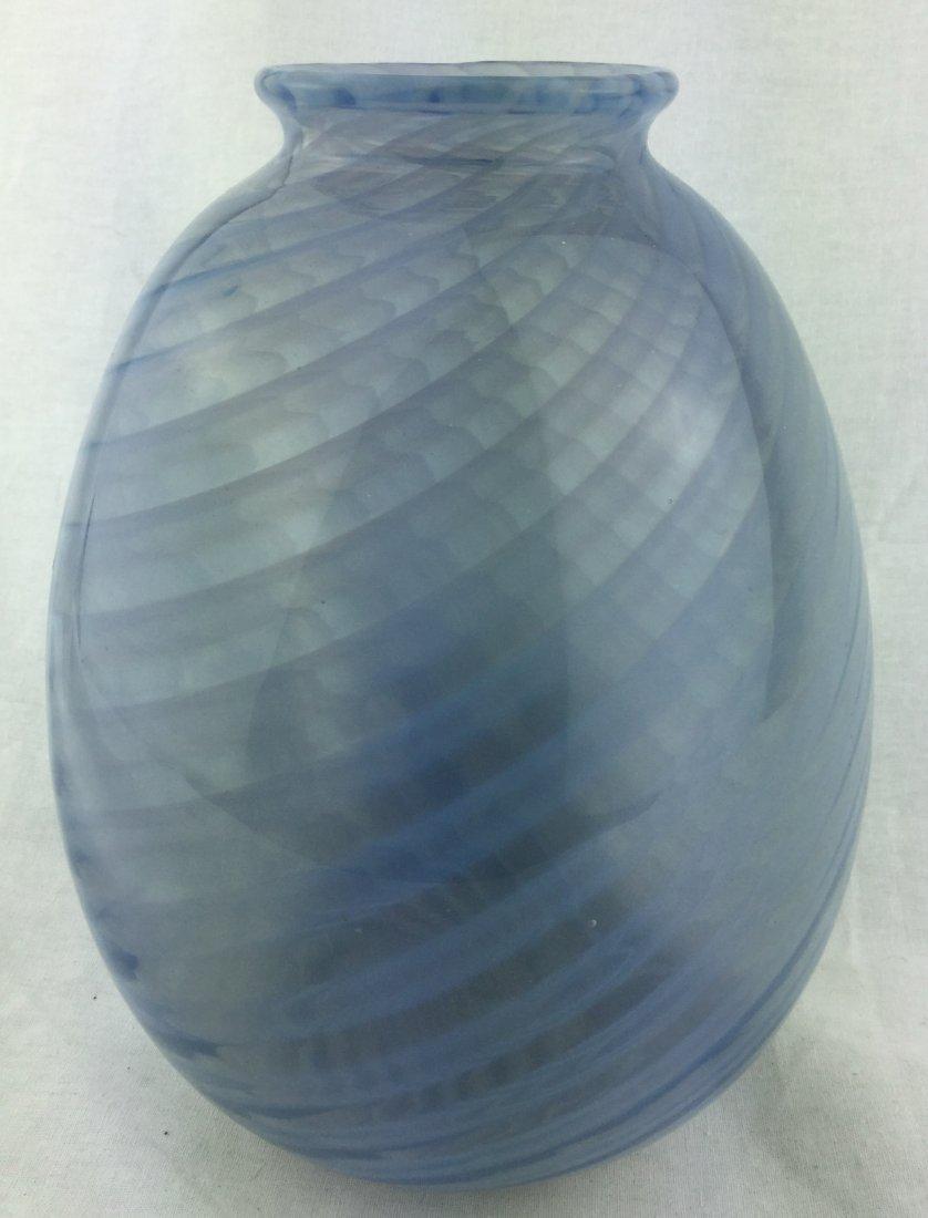Hand Blown VIntage Swirl Vase