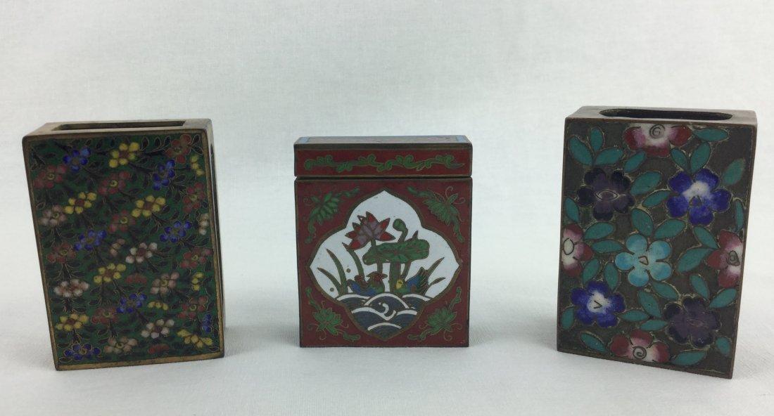 Cloisonne. Matchbox Collection