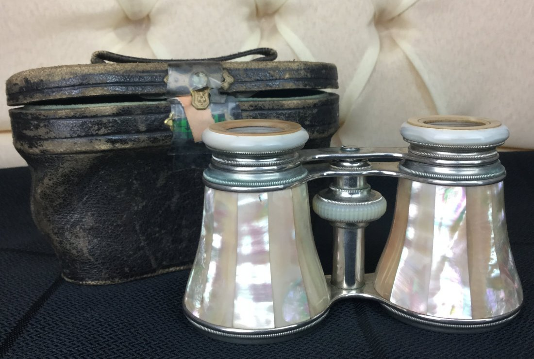 Antique Opera Glasses with Mother of Pearl