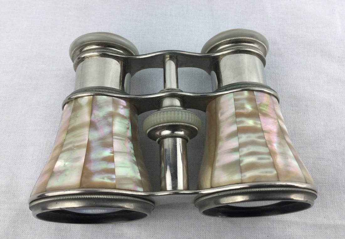Antique Opera Glasses with Mother of Pearl - 2